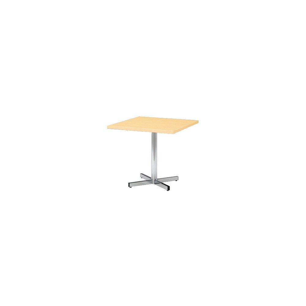 プラス 会議テーブル LM 十字脚タイプ 正方形 LM-075CS ホワイトメープル 602864 B013JP9Y3G ホワイトメープル|602864 ホワイトメープル