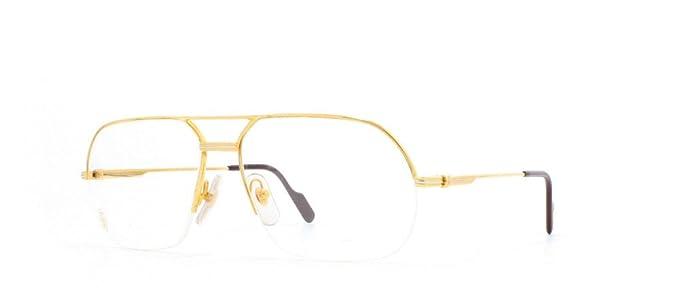 dc4b8d884ae0 Cartier Orsay T8100.165 GLD Gold Authentic Men Vintage Eyeglasses Frame