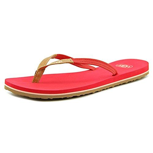 UGG Women's Magnolia Tropical Sunset Leather Sandal 6 B -