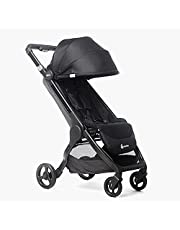 Ergobaby Metro+ Compact Baby Stroller, Lightweight Umbrella Stroller Folds Down for Overhead Airplane Storage (Carries up to 50 lbs), Car Seat Compatible, Black