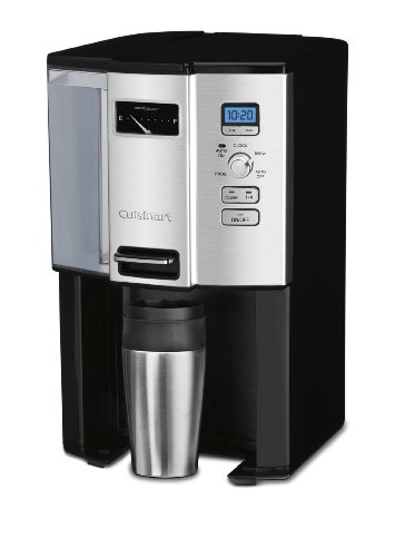 Cuisinart Coffee-on-Demand Automatic Programmable Coffeemaker, 12 Cup Removable Double Walled Coffee and Water Reservoir, with Dispensing Lever, and Auto Brew and 1-4 Cup Brewing, with Auto Clean Feature, Permanent Gold Tone and Charcoal Filter Included by CUISINART (Image #2)
