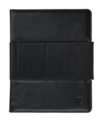 Trexta iPad 2 Genuine Leather Leather Case Rotating computing Folio Black 17046 (japan import) by -