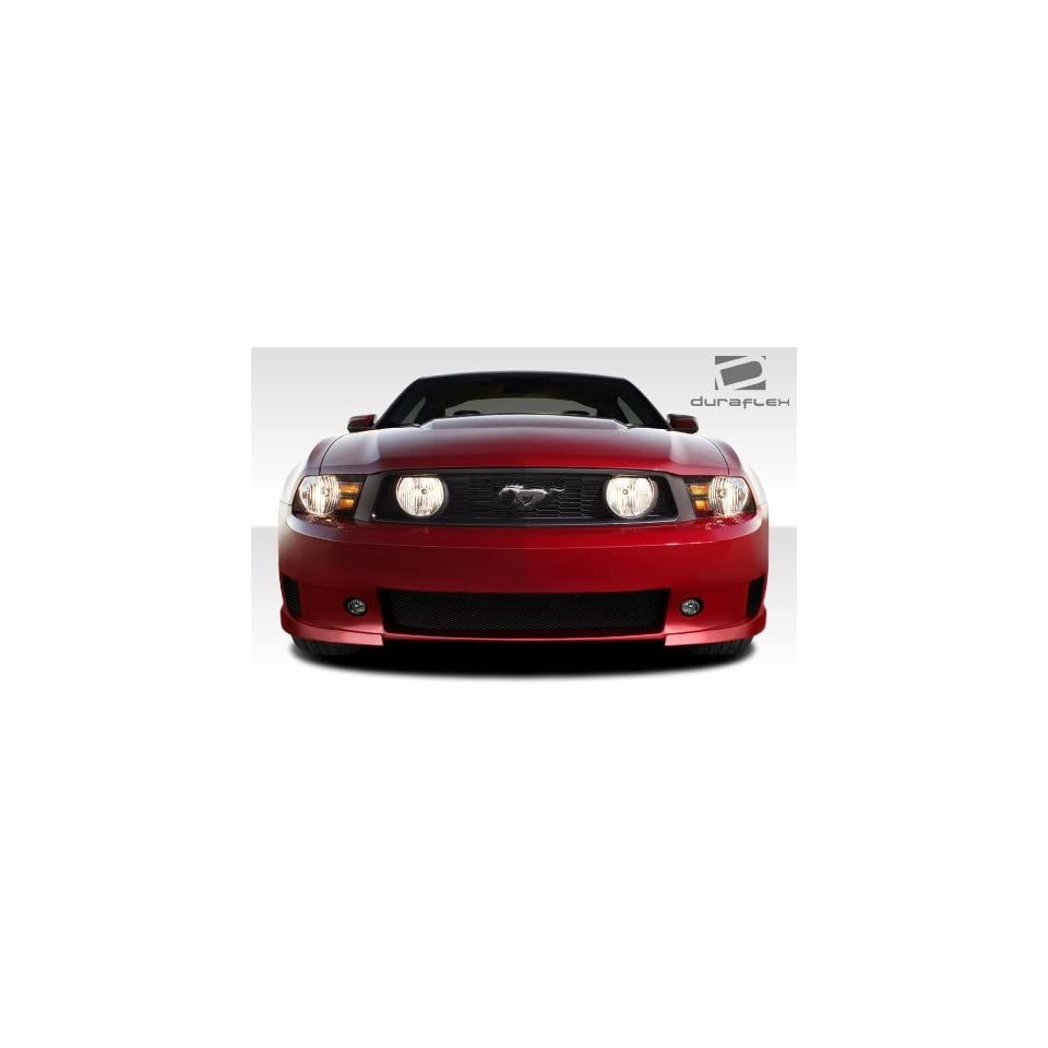 2010 2012 Ford Mustang Duraflex CVX Front Bumper Cover   1 Piece Automotive