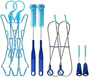 2 Packs Hydration Bladder Cleaning Kit, 4 in 1 Water Bladder Cleaning Brush Kit Includes Flexible Long Bladder