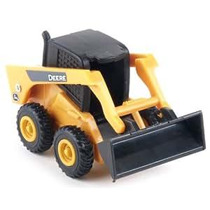 John Deere Skid Steer Laoder Toy, Yellow