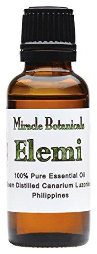 Miracle Botanicals Elemi Essential Oil - 100% Pure Canarium Luzonicum - Therapeutic Grade - 30ml