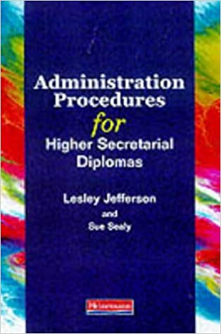 Administration Procedures for Higher Secretarial Diplomas