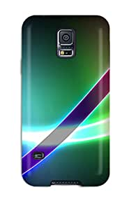 Galaxy S5 Case Cover Skin : Premium High Quality Colorful Swings Abstract Case