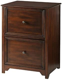 Oxford File Cabinet, 2 DRAWER, CHESTNUT