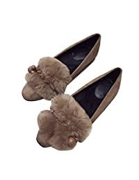 Amazon.com.mx  Café - Flats   Zapatos  Ropa f782fa14d9f9