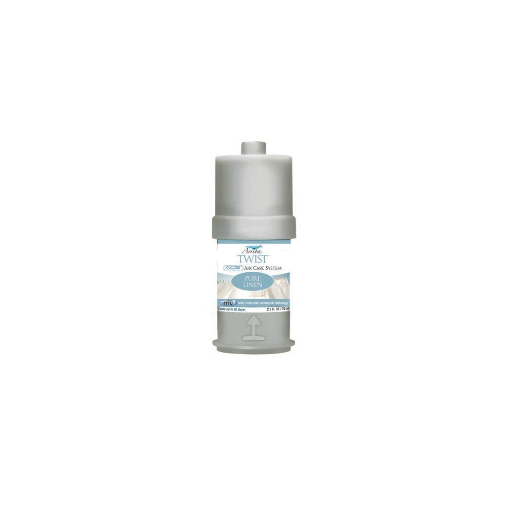 San Jamar RW107801231 Arriba Pure Linen Twist Fragrance - 6 / PK