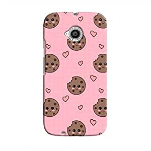 Cover It Up Cookie love Hard Case For Moto E2