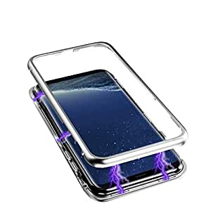 SAMSUNG GALAXY NOTE 9 Magnetic ADSORPTION TEMPERED GLASS CASE