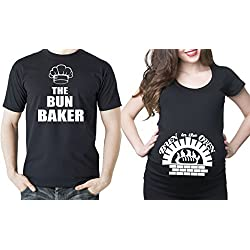 Bun In The Oven Couple T-Shirts