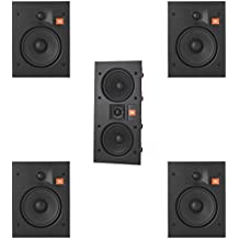 JBL Arena 5.0 Home Theater System with 4 JBL Arena 6IW In-Wall Loudspeakers and 1 JBL Arena 55IW In-Wall Loudspeaker