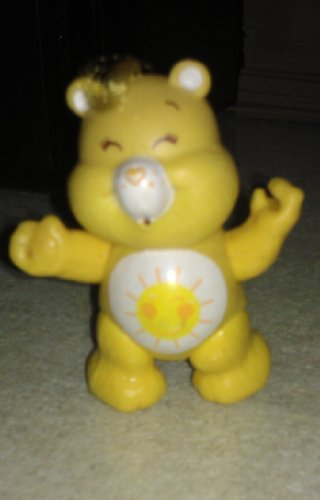 1983 Vintage Poseable Funshine Bear Care Bears (Vintage Kenner Care Bears)