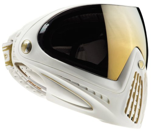 - Dye Precision I4 Thermal Paintball Goggle, White Gold
