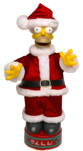 (Mini Dancing Santa Homer by Simpsons)