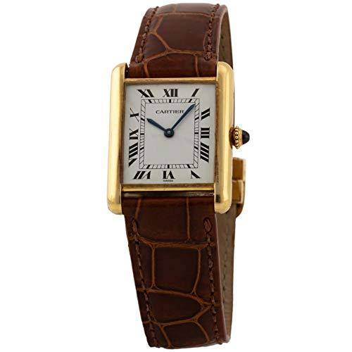 Cartier Tank Louis Cartier Manual-Wind Female Watch 78086 (Certified Pre-Owned)