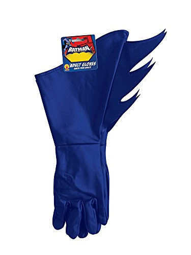 Rubie's Men's Batman The Brave and The Bold Adult Costume Gloves, Blue, One -