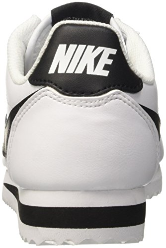 Scarpe black Donna Fitness Wmns white Bianco Cortez white Nike Da Classic Leather FIwqn7A