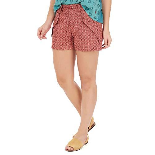 Shorts Canoa - Vermelho - Tamanho 38