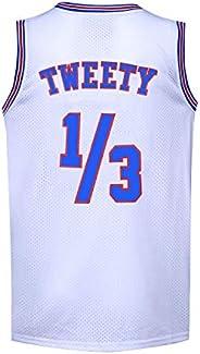 Basketball Jersey 1/3 Tweety Space Jam Jersey 90s Shirts