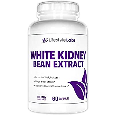 White Kidney Bean Extract For Weight Loss - Potent Formula Suppresses Appetite & Blocks Carbohydrates