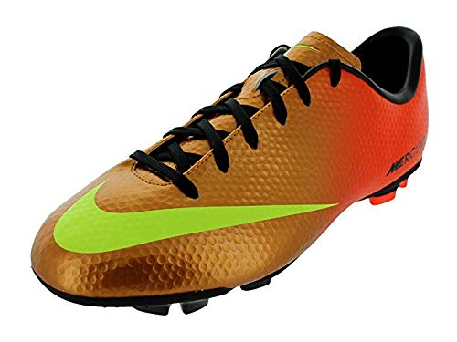 Nike Kids Soccer Cleats Jr Mercurial Victory IV FG Sunset Soccer Shoes 553631 (2)