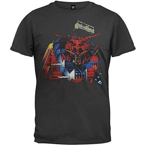 Ptshirt.com-19212-Judas Priest - Mens Defenders Of Faith T-shirt-B00BMD7JNK-T Shirt Design