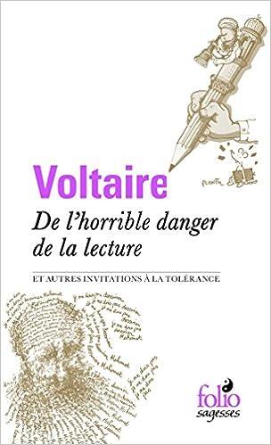 Télécharger en ligne De l'horrible danger de la lecture et autres invitations à la tolérance pdf ebook