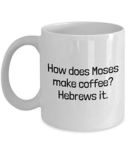 Funny Minister Gift Preacher Coffee Mug Pastor Present Hebrews It
