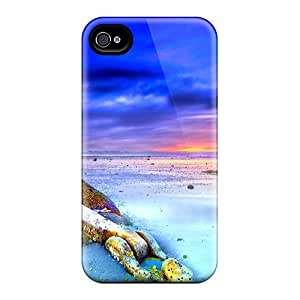 Waterdrop Snap-on Low Tide Beach At Dusk Cases For Iphone 6
