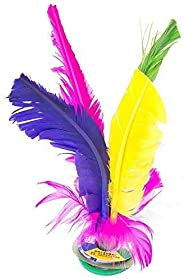 Kick Shuttlecock Chinese Jianzi Colorful Feather Foot Sports Outdoor Toy Game   Indoor Outdoor Game for Kids,