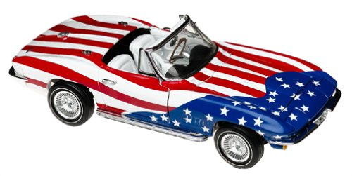 1:18 Austin Powers Corvette Diecast Model By Ertl 18 Ertl Diecast Model