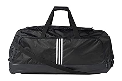 f93cfe53400 Adidas Unisex Adult TRAVEL TOURNEY WHEEL BAG Bags - Black, One Size ...