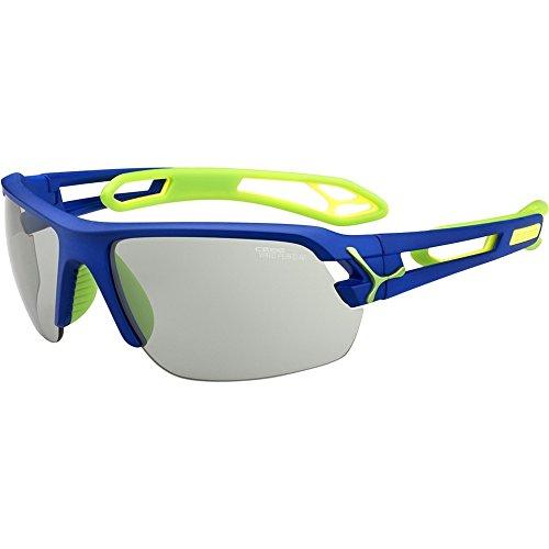 Cebe Sunglasses Cbstm9 S'track Medium Dark Blue Green Vario Perfo ()