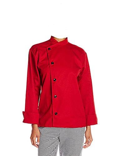 Red Coat Chef - Uncommon Threads Unisex  Rio Chef Coat, Red, Medium