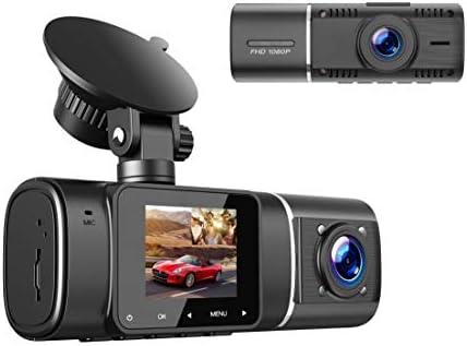 Toguard Dual Dash Cam Full Hd 1080p Front And 720p Ir Elektronik