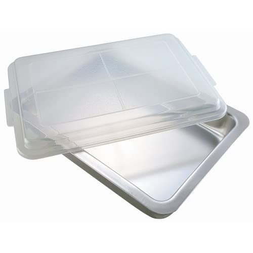AirBake by WearEver Natural Oblong Baking Pan with Cover