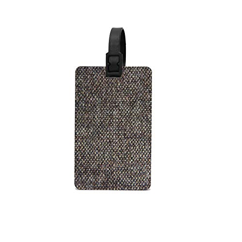Lovwepilo Tweed Luggage Tag Inspirational Motivational Travel Baggage ID Suitcase Labels Accessories ()