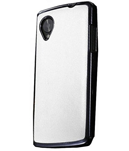 Excelsior Premium Designer PU Leather Back Cover Case for LG Google Nexus 5  White  Cases   Covers