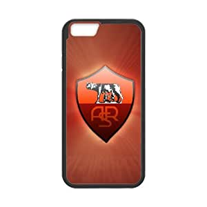 As Roma Logo 005 iPhone 6 4.7 Inch Cell Phone Case Black TPU Phone Case RV_595957