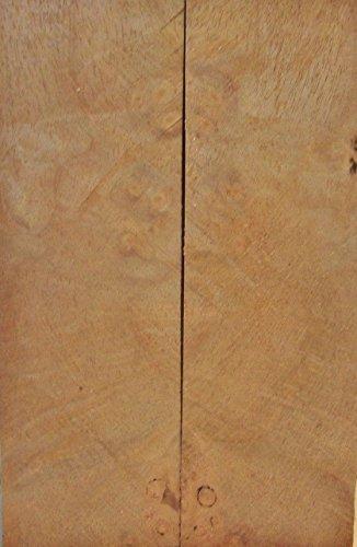 Maple Hard Burl (1 pc) Thin Inlay 3/8