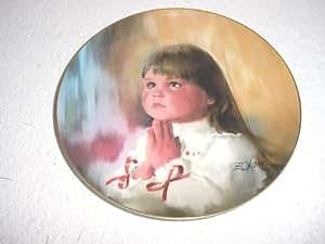 A Christmas Prayer Plate by Donald Zolan
