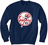 "The Silo NAVY Sanchez New York ""LOGO"" CREWNECK Sweatshirt ADULT"
