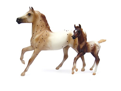 Breyer Semi-Leopard Appaloosa and Chestnut Blanket Appalo...