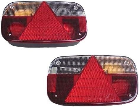 Fkanhängerteile 1 Set Aspöck Multipoint 3 Für 13 Pol Kabel Leuchten Recht Und Links Auto