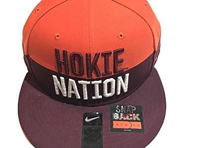 NIKE Virginia Tech Hokie Nation Snapback Cap