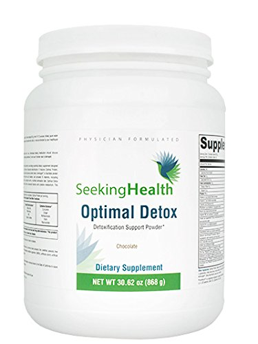 Optimal Detox Functional Food Powder - Chocolate 700 grams | Seeking Health | Immune Support and Protein Blend